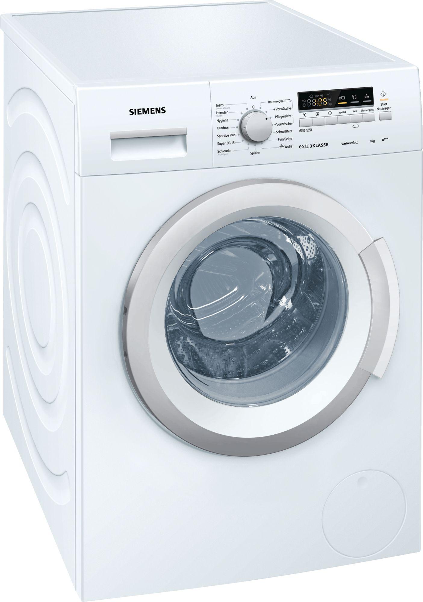 Waschmaschine Siemens Wm14k29a Benutzerhandbuch Devicemanuals