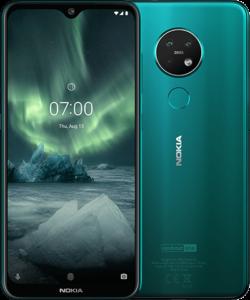 Nokia 7.2 Türkis farbe