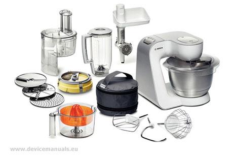 bosch mum54251 mum54420 mum54520 mum54620 machine de cuisine manuel de l utilisateur mode d. Black Bedroom Furniture Sets. Home Design Ideas