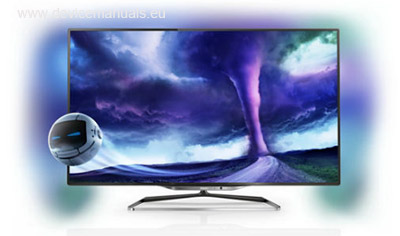 Philips LED TV 55PFL8008