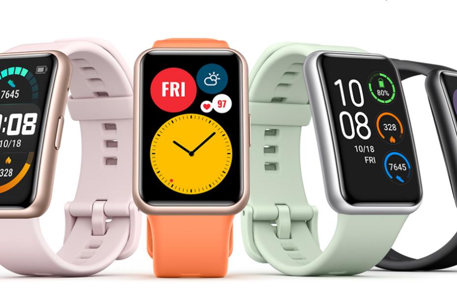 Huawei Watch Fit toutes les couleurs