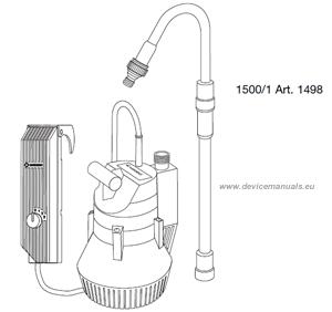 GARDENA Battery Pump 1500/1