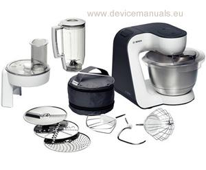 styline food mixer mum52120gb user manual devicemanuals rh devicemanuals eu bosch stand mixer manual bosch universal mixer manual