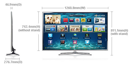 tv samsung 55 u2033 es6800 series 6 smart 3d full hd manual download rh devicemanuals eu samsung led tv 6000 series user manual samsung led tv series 6 6000 manual