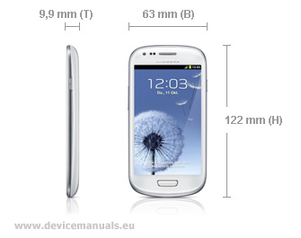 Samsung Galaxy S3 mini GT-I8190 – user manual free download | User