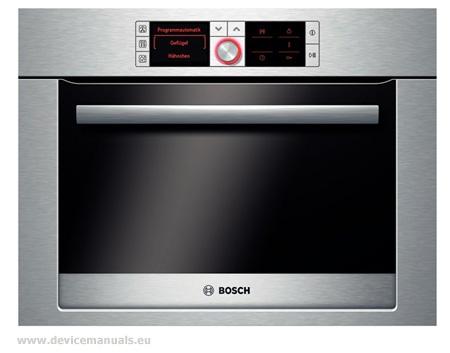 bosch oven user manual pdf