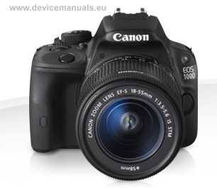 EOS 100D - User manual