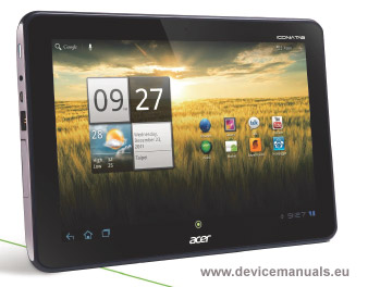 acer tablet iconia tab a210 a211 user manual user manual rh devicemanuals eu acer iconia tab 10 manual pdf acer iconia tablet review
