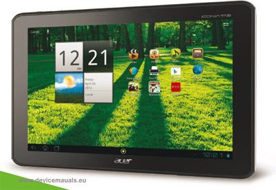 nvidia user manual devicemanuals rh devicemanuals eu Acer Iconia Tablet Specifications Acer Iconia Tablet Windows 7