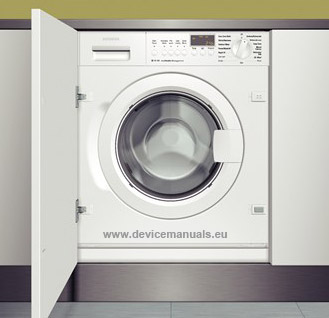 Siemens vaskemaskine service