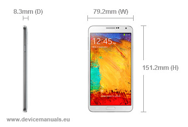 Samsung Galaxy Note 3 – user manual | User manual – Devicemanuals