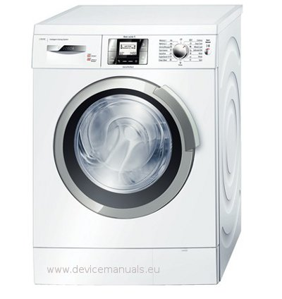 washing machine bosch was28840gb user manual user. Black Bedroom Furniture Sets. Home Design Ideas