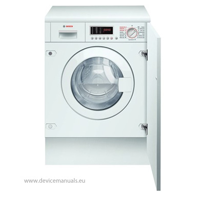 bosch wkd28540gb automatic washer dryer user manual devicemanuals rh devicemanuals eu bosch washer manual door release bosch washer manual nexxt