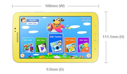 Galaxy Tab 3 Kids 7.0