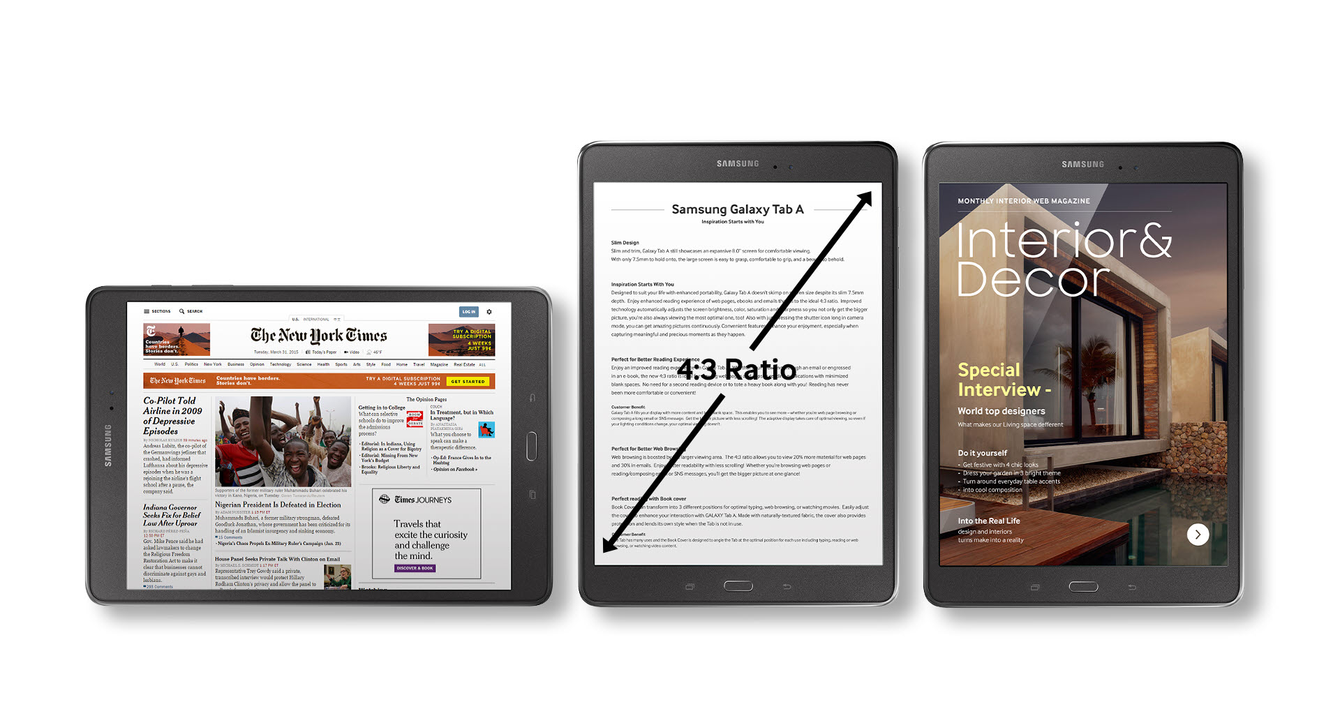 Tablet Samsung Galaxy Tab A | User manual – Devicemanuals