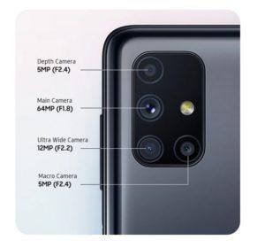 M51 quad camera