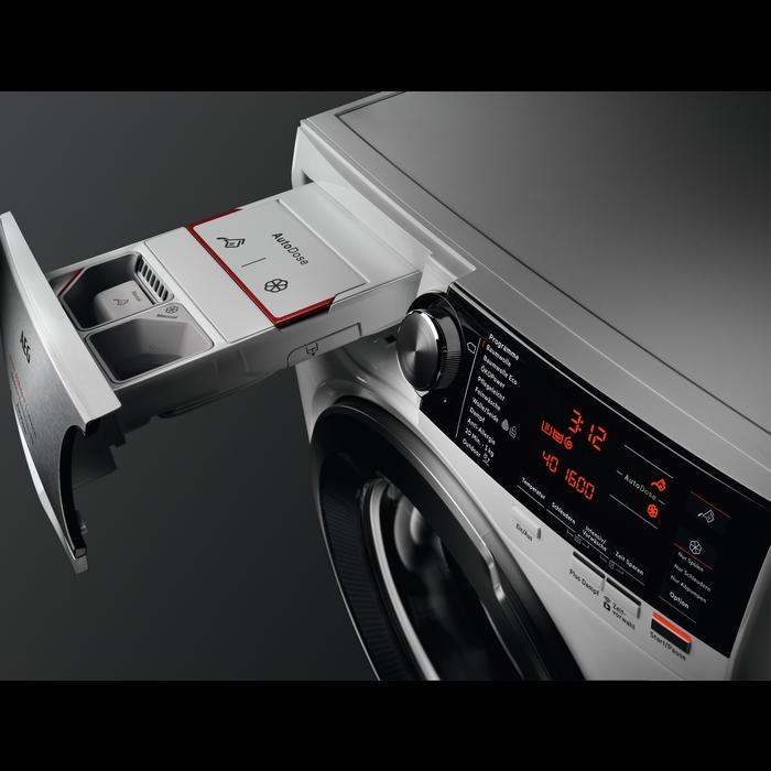 AEG washing machine drawer
